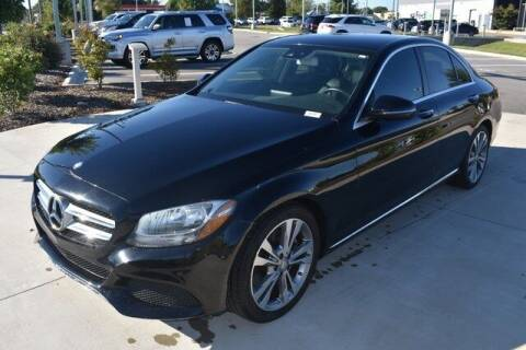 2017 Mercedes-Benz C-Class for sale at PHIL SMITH AUTOMOTIVE GROUP - MERCEDES BENZ OF FAYETTEVILLE in Fayetteville NC