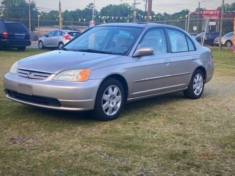 2002 Honda Civic for sale at Cutiva Cars in Gastonia NC