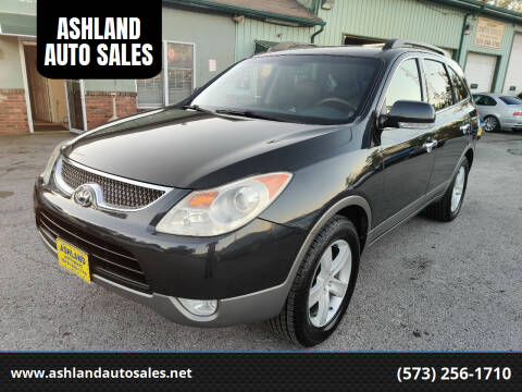 2008 Hyundai Veracruz for sale at ASHLAND AUTO SALES in Columbia MO