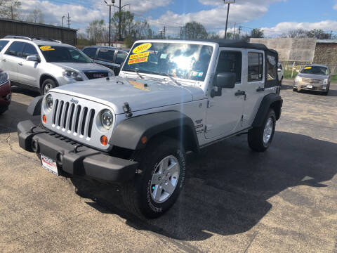 2010 Jeep Wrangler Unlimited for sale at Smart Buy Auto in Bradley IL