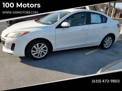 2012 Mazda MAZDA3 for sale at 100 Motors in Bechtelsville PA