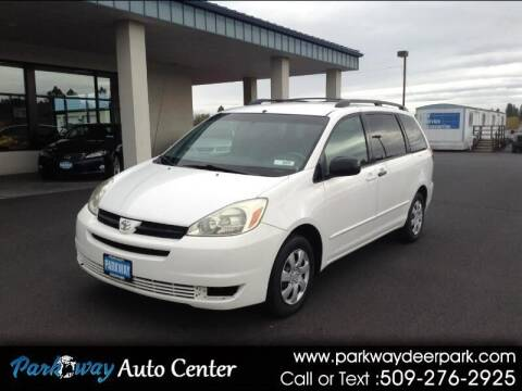2005 Toyota Sienna for sale at PARKWAY AUTO CENTER AND RV in Deer Park WA