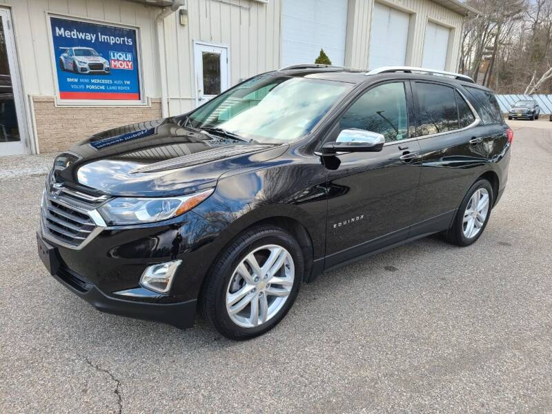2018 Chevrolet Equinox for sale at Medway Imports in Medway MA