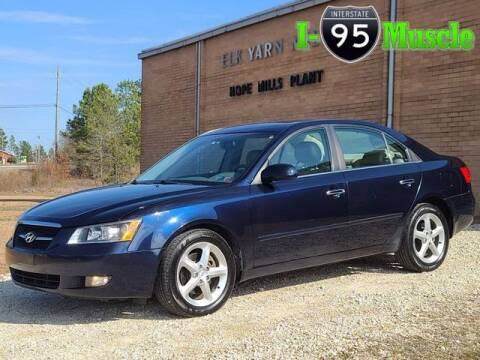 2007 Hyundai Sonata for sale at I-95 Muscle in Hope Mills NC
