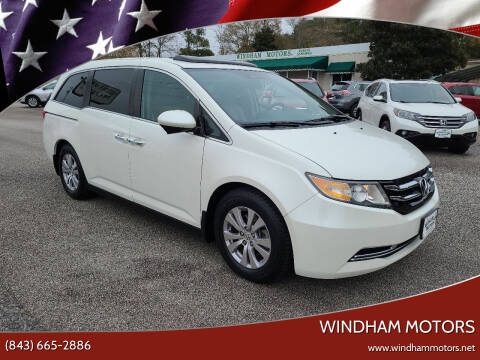 2015 Honda Odyssey for sale at Windham Motors in Florence SC
