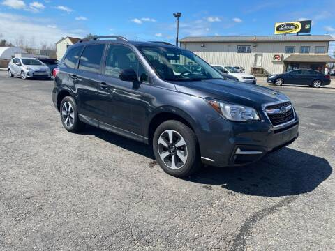 2018 Subaru Forester for sale at Riverside Auto Sales & Service in Portland ME
