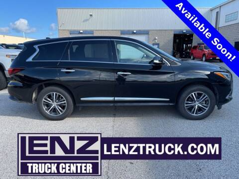 2018 Infiniti QX60 for sale at LENZ TRUCK CENTER in Fond Du Lac WI