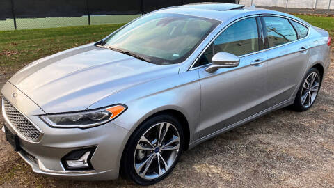 2020 Ford Fusion for sale at Autoworks of Devon in Milford CT