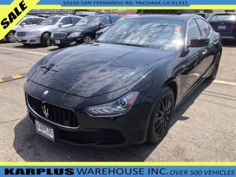 2014 Maserati Ghibli for sale at Karplus Warehouse in Pacoima CA