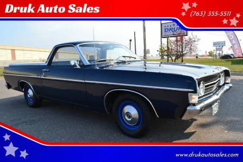 1968 Ford Ranchero for sale at Druk Auto Sales in Ramsey MN