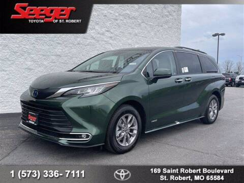 2021 Toyota Sienna for sale at SEEGER TOYOTA OF ST ROBERT in St Robert MO