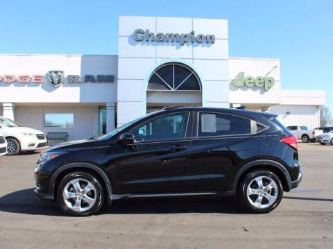 2016 Honda HR-V for sale at Champion Chevrolet in Athens AL