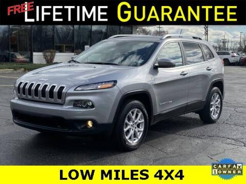 2017 Jeep Cherokee for sale at Vicksburg Chrysler Dodge Jeep Ram in Vicksburg MI