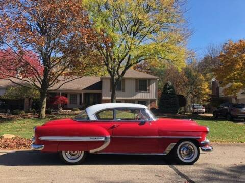 1954 Chevrolet Bel Air for sale at Classic Car Deals in Cadillac MI