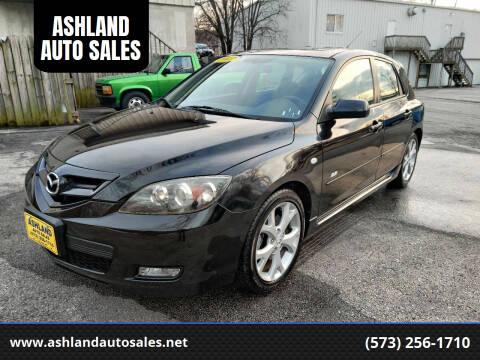 2007 Mazda MAZDA3 for sale at ASHLAND AUTO SALES in Columbia MO