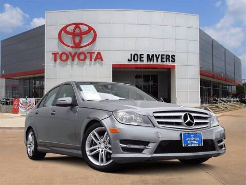 2012 Mercedes-Benz C-Class for sale at Joe Myers Toyota PreOwned in Houston TX