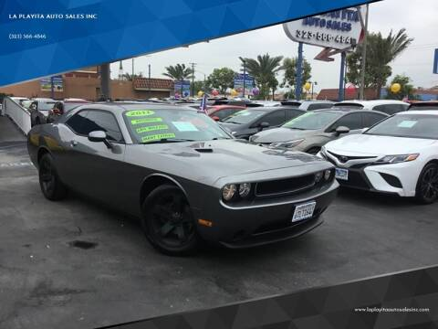 2011 Dodge Challenger for sale at LA PLAYITA AUTO SALES INC in South Gate CA