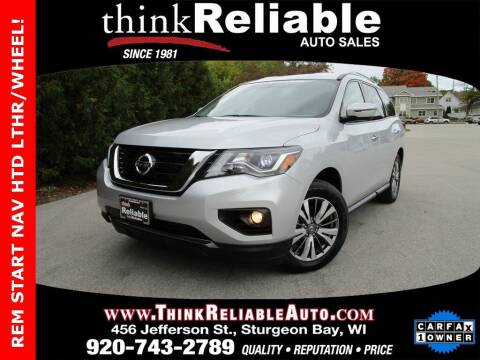 2019 Nissan Pathfinder for sale at RELIABLE AUTOMOBILE SALES, INC in Sturgeon Bay WI