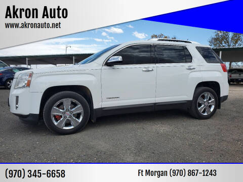 2015 GMC Terrain for sale at Akron Auto in Akron CO