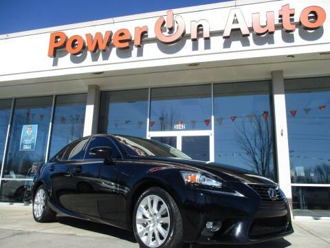 2015 Lexus IS 250 for sale at Power On Auto LLC in Monroe NC