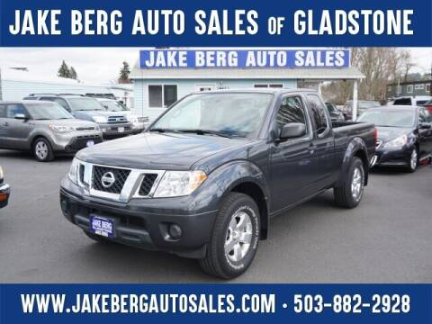 2012 Nissan Frontier for sale at Jake Berg Auto Sales in Gladstone OR