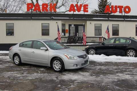2012 Nissan Altima for sale at Park Ave Auto Inc. in Worcester MA