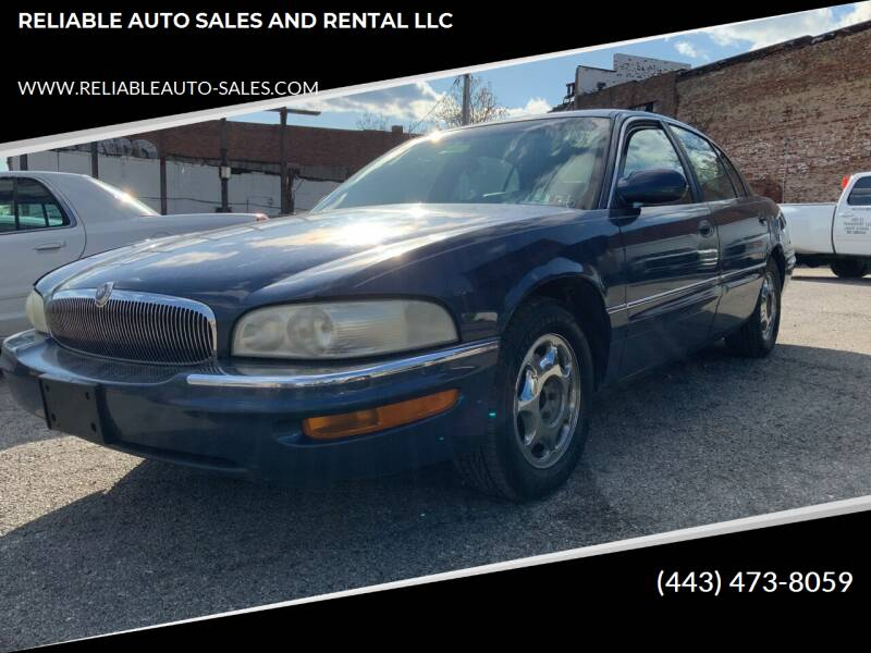 used 1997 buick park avenue for sale carsforsale com used 1997 buick park avenue for sale