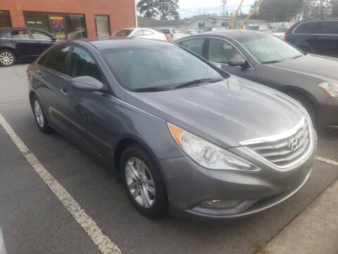 2013 Hyundai Sonata for sale at Credit Cars LLC in Lawrenceville GA