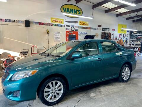 2010 Toyota Corolla for sale at Vanns Auto Sales in Goldsboro NC