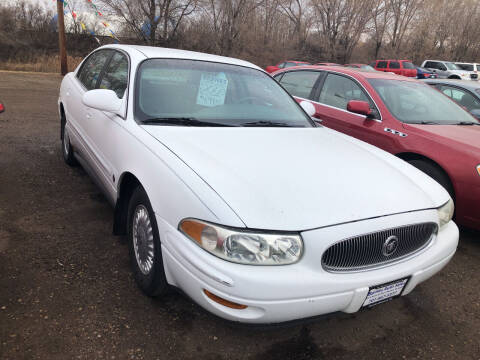2000 Buick LeSabre for sale at BARNES AUTO SALES in Mandan ND