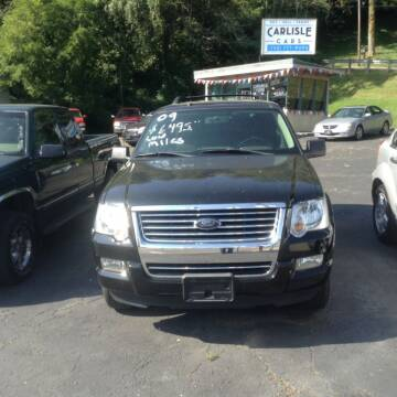 2009 Ford Explorer for sale at Carlisle Cars in Chillicothe OH