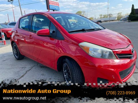 2012 Toyota Yaris for sale at Nationwide Auto Group in Melrose Park IL