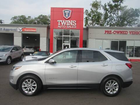 2018 Chevrolet Equinox for sale at Twins Auto Sales Inc in Detroit MI