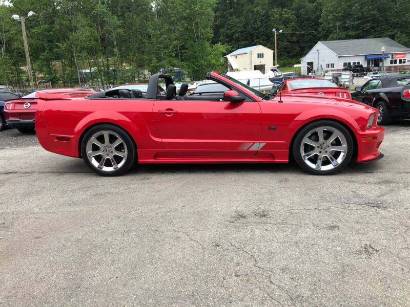 2006 Ford Mustang for sale at Top Line Motorsports in Derry NH