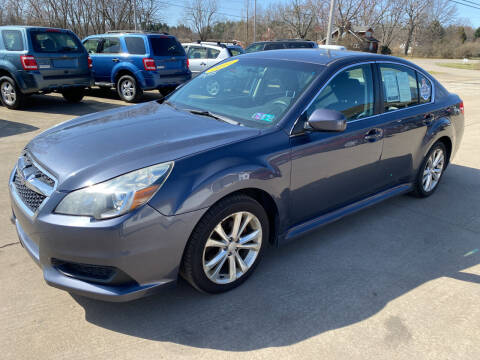 2014 Subaru Legacy for sale at CarNation Auto Group in Alliance OH