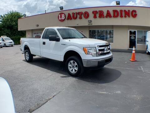 2013 Ford F-150 for sale at LB Auto Trading in Orlando FL