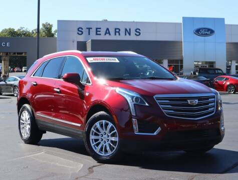 2017 Cadillac XT5 for sale at Stearns Ford in Burlington NC