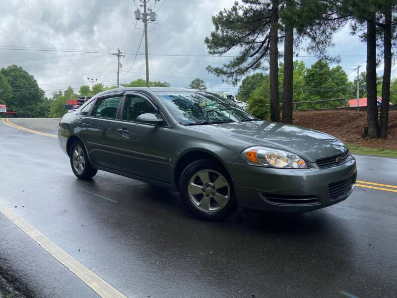2008 Chevrolet Impala for sale at THE AUTO FINDERS in Durham NC