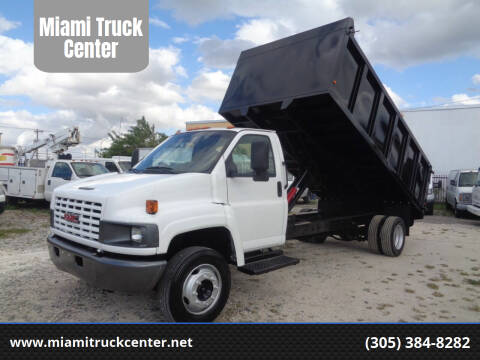 2005 Chevrolet C5500 for sale at Miami Truck Center in Hialeah FL