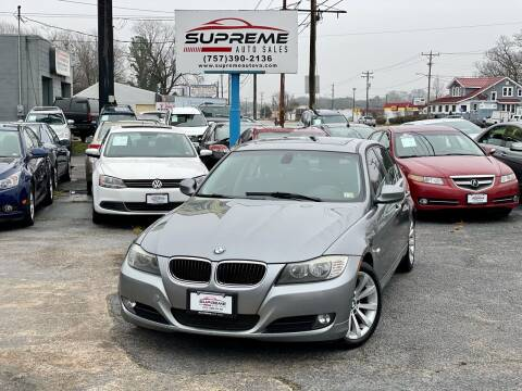 2011 BMW 3 Series for sale at Supreme Auto Sales in Chesapeake VA