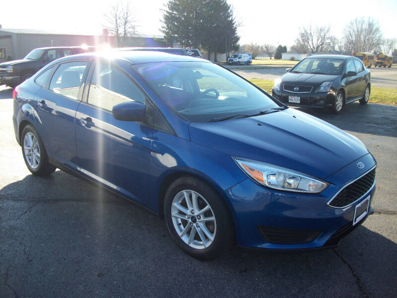 2018 Ford Focus for sale at USED CAR FACTORY in Janesville WI