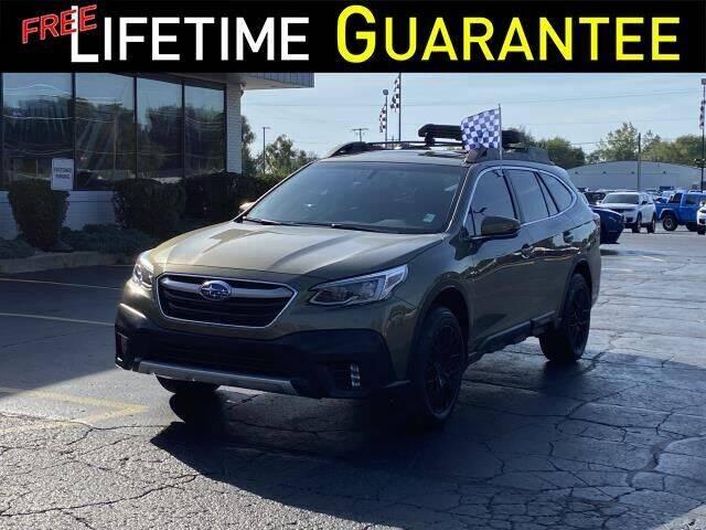 2021 Subaru Outback for sale at Vicksburg Chrysler Dodge Jeep Ram in Vicksburg MI