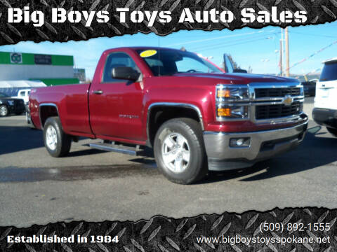 2014 Chevrolet Silverado 1500 for sale at Big Boys Toys Auto Sales in Spokane Valley WA