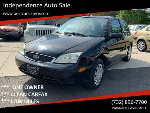 2006 Ford Focus for sale at Independence Auto Sale in Bordentown NJ