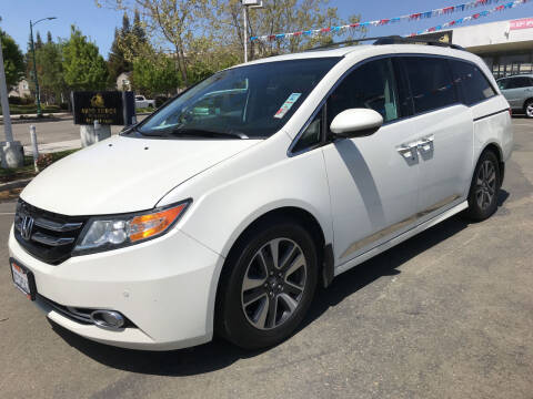 2014 Honda Odyssey for sale at Autos Wholesale in Hayward CA