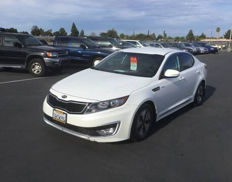 2013 Kia Optima Hybrid for sale at My Three Sons Auto Sales in Sacramento CA