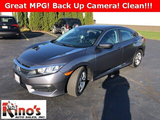 2018 Honda Civic for sale at Rino's Auto Sales in Celina OH