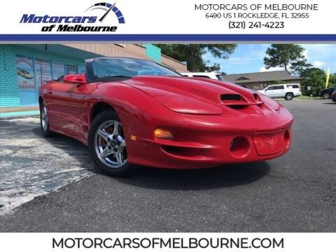 1999 Pontiac Firebird for sale at Motorcars of Melbourne in Rockledge FL