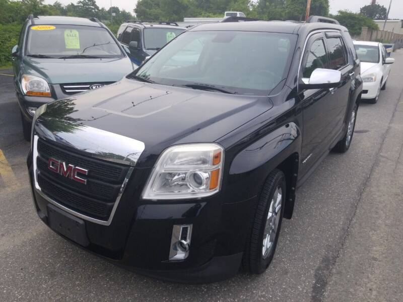 2012 GMC Terrain for sale at Howe's Auto Sales in Lowell MA