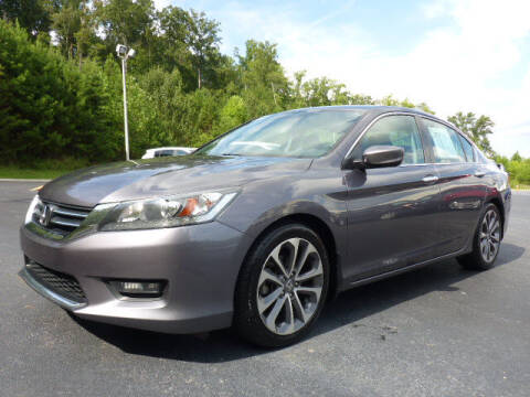 2014 Honda Accord for sale at RUSTY WALLACE KIA OF KNOXVILLE in Knoxville TN